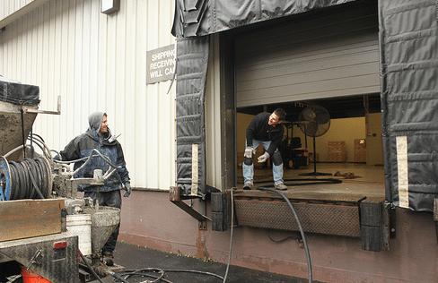 Interior Concrete Slab Leveling